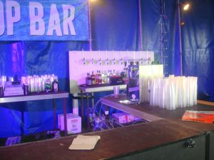 night bar dispenser setup